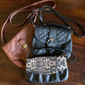 Lot of GRACE ADELE Crossbody Purses
